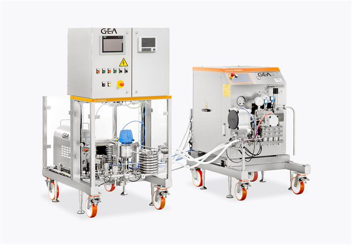 Homogenizers Plug & Play Pharma Skid